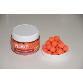 DeLuxe & Hot Seafood plovoucí boilies 200 ml